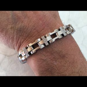 Russell Simmons 10mm Houston Diamond Bracelet